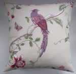 Cushion Cover in Laura Ashley Summer Palace Cranberry 16""